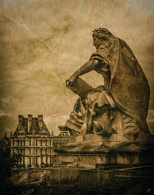 Photograph - Paris, France - Muse by Mark Forte