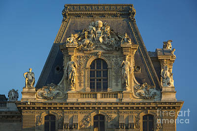 Photograph - Musee Du Louvre Roof by Brian Jannsen