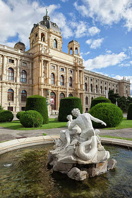 Naiad Photograph - Museum Of Natural History In Vienna by Artur Bogacki