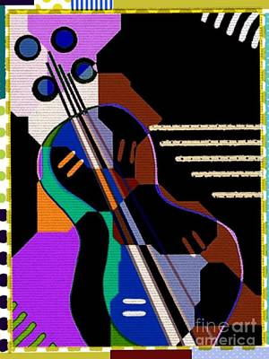 Digital Art - Music by Cooky Goldblatt