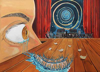 Painting - Music by Lazaro Hurtado