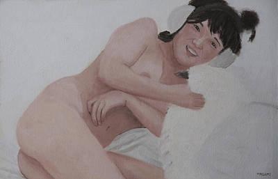 Painting - Music Lover by Masami Iida