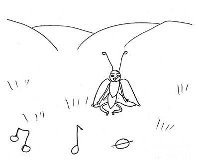 Drawing - Musical Notes by Sophia Landau