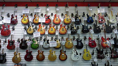 The Les Paul Guitar Photograph - Musicians' Dream by To-Tam Gerwe