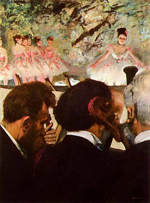 Orchestra Painting - Musicians In The Orchestra by Edgar Degas