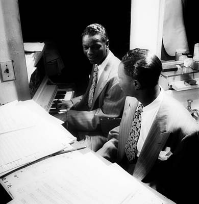 Nat King Cole Photograph - Music's Golden Era - Nat King Cole 1947 by Mountain Dreams