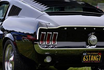 Photograph - Mustang Detail by Dean Ferreira