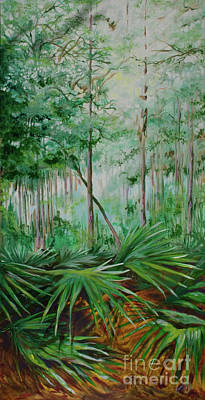 My Backyard Art Print by Michele Hollister - for Nancy Asbell