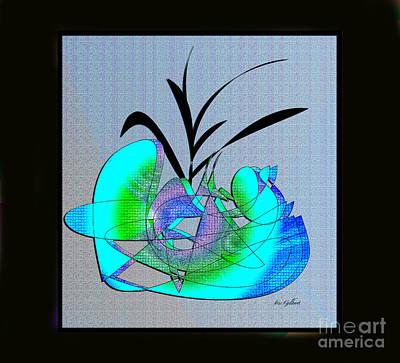Digital Art - My House Plant by Iris Gelbart