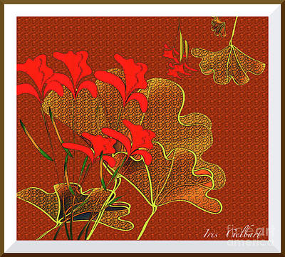 Digital Art - My Irises by Iris Gelbart