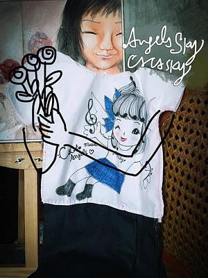 Mixed Media - My Melody Series by Angela Lao