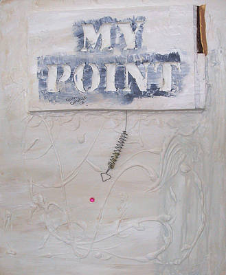 Painting - My Point by Kevin Callahan