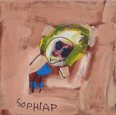 Painting - My Sister. 2008. by Sophia Pontet