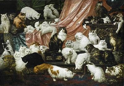 Painting - My Wife's Lovers by Carl Kahler