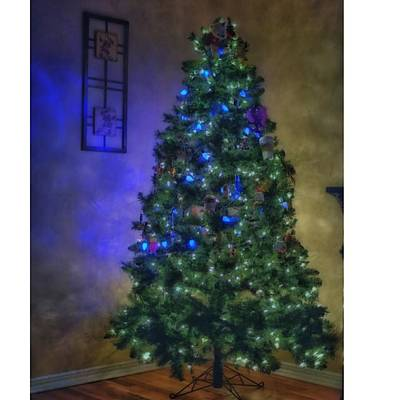 Fantasy Photograph - #myhouse #myhome #tree #christmas by David Haskett