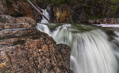 British Holiday Parks Photograph - Myra Falls, Strathcona Provincial Park by Robert Postma