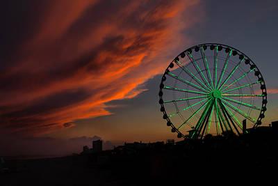 Photograph - Myrtle Beach by CA  Johnson