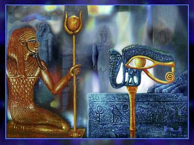 Painting - Mysterious Egypt by Hartmut Jager