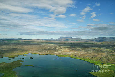 Photograph - Beautiful Myvatn, Iceland by Patricia Hofmeester