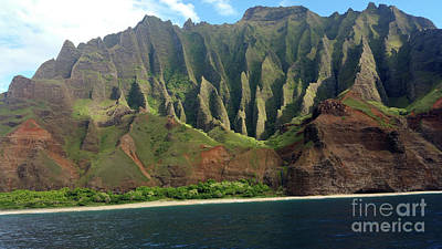 Photograph - Na Pali Coast by Karen Nicholson
