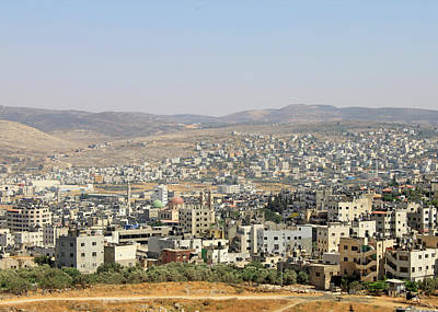 Photograph - Nablus City by Munir Alawi
