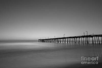 Nags Head Fishing Pier Sunrise Art Print