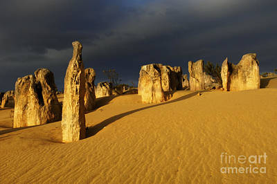 Photograph - Nambung Desert Australia 1 by Bob Christopher