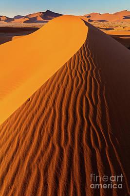 Sossusvlei Photograph - Namib Dune by Inge Johnsson