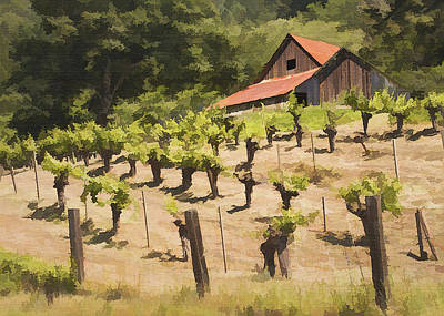 Photograph - Napa Barn by Sharon Foster