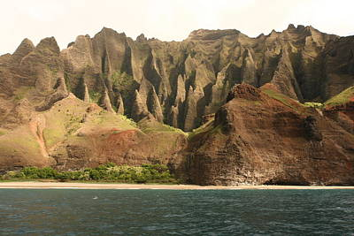 Art Print featuring the photograph Napali Coast by Andrei Fried
