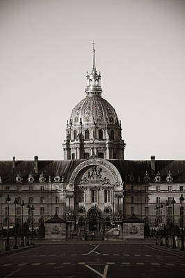 Photograph - Napoleon's Tomb by Songquan Deng