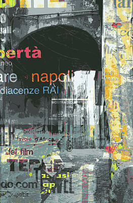 Mixed Media - Napoli by Shay Culligan