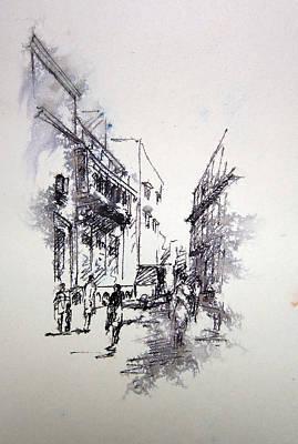 Nca Painting - Naqsh School Of Arts by M Kazmi