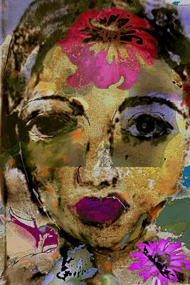 Raj Mixed Media - Nargis by Noredin Morgan