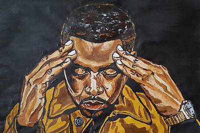 Painting - Nas by Rachel Natalie Rawlins
