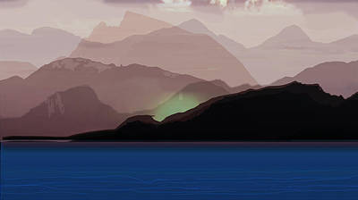 Digital Art - Nascent Wildfire by Michaelalonzo Kominsky