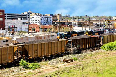 Photograph - Nashville Railyard by Chris Smith