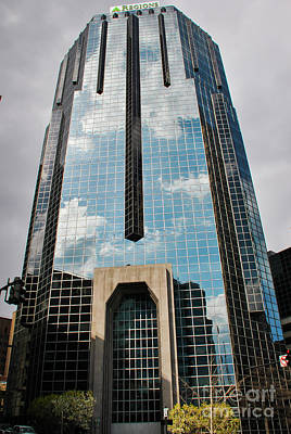 Aretha Franklin - Nashville Skyscraper II by Pamela Williams