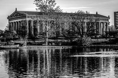 Travel - Nashvilles Parthenon  in  Spring  by Alex Grichenko