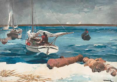 Caribbean Sea Painting - Nassau, 1899 by Winslow Homer
