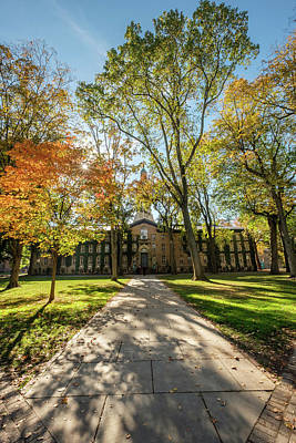 Photograph - Nassau Hall Princeton University  by Glenn DiPaola