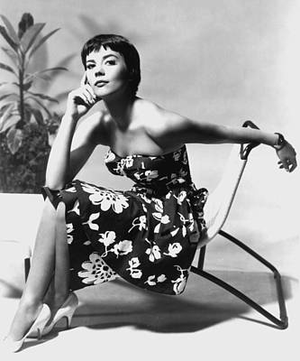 Natalie Wood Art Print by American School