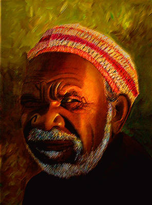 Painting - Native Aussie by JoeRay Kelley