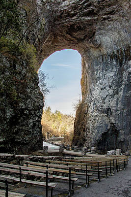 Photograph - Natural Bridge by Jean Haynes