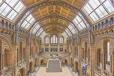 Natural History Museum London Photograph - Natural History Museum by Angela Aird