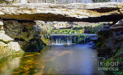 Photograph - Natural Spring Falls by Jennifer White