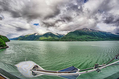 Photograph - Nature And Mountains Around Skagway Alaska by Alex Grichenko