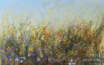 Painting - Nature Does It Best by Valerie Travers