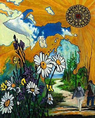 Nature Hike Original by Trisha Moran