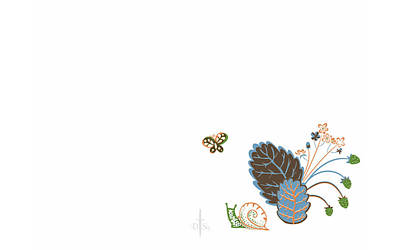 Flower Digital Art - Nature by Maye Loeser